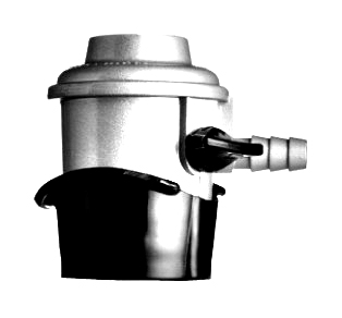 GAS regulator click-on